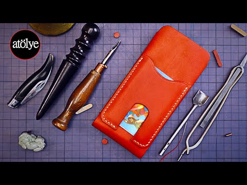 leather-iphone-case-making-|-smart-phone-case-|-custom-|-how-it's-made-|-diy