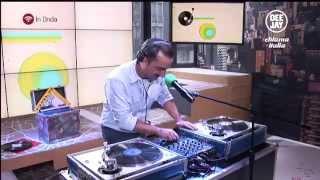 Nicola Savino mixa in diretta DJCI 23.01.2015