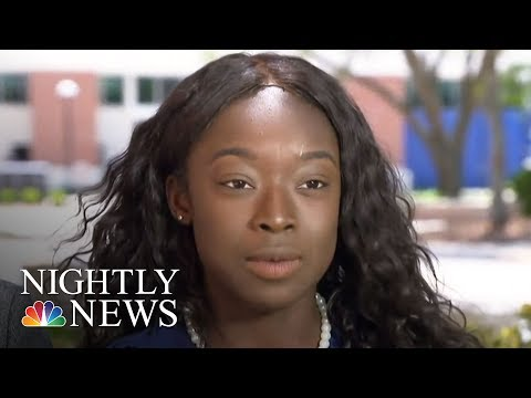 University Of Florida President Apologizes For Grads Being Rushed Off Stage | NBC Nightly News