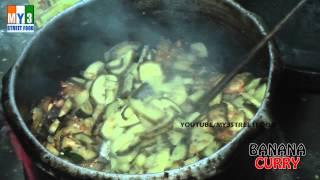 Banana Curry - Rajahmundry Street Foods - Andhra Street Food