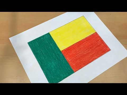 How to Draw the Beninese Flag | Flag Speed Draw