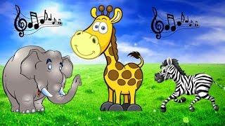 Скачать Песни Для Детей У Жирафа Пятна Учим Части Тела