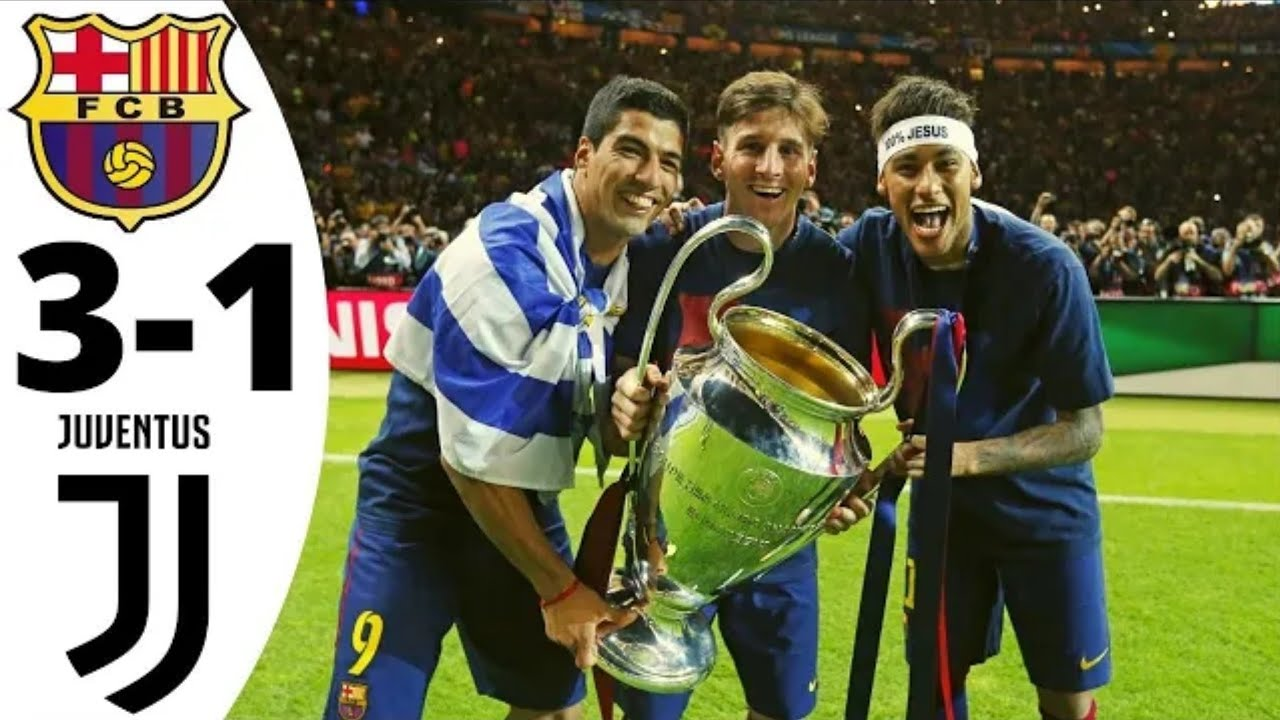 Barcelona vs Juventus 3-1- UCL Final 2015 - highlights And ...