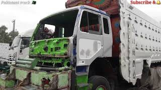 UD Nissan cabin Accidental repairing  and restoration PKD turbo 411 tipper