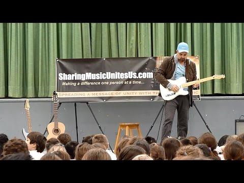 The Sharing Music Unites Us ™ Cause - Empowering children through music