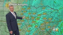 Cold Rain, Storms Move Through North Texas