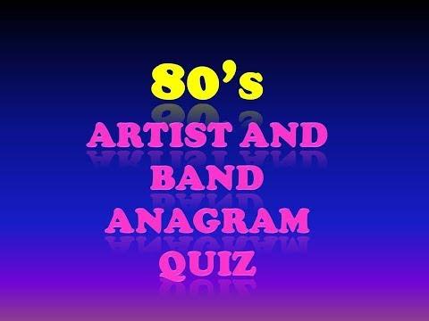 80's Pop Music Quiz Volume 001