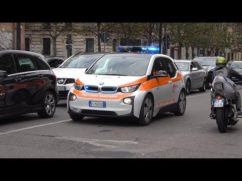 [4K] Automedica AREU 118 Milano in emergenza - NEF Rettungsdienst Mailand auf einsatzfahrt.