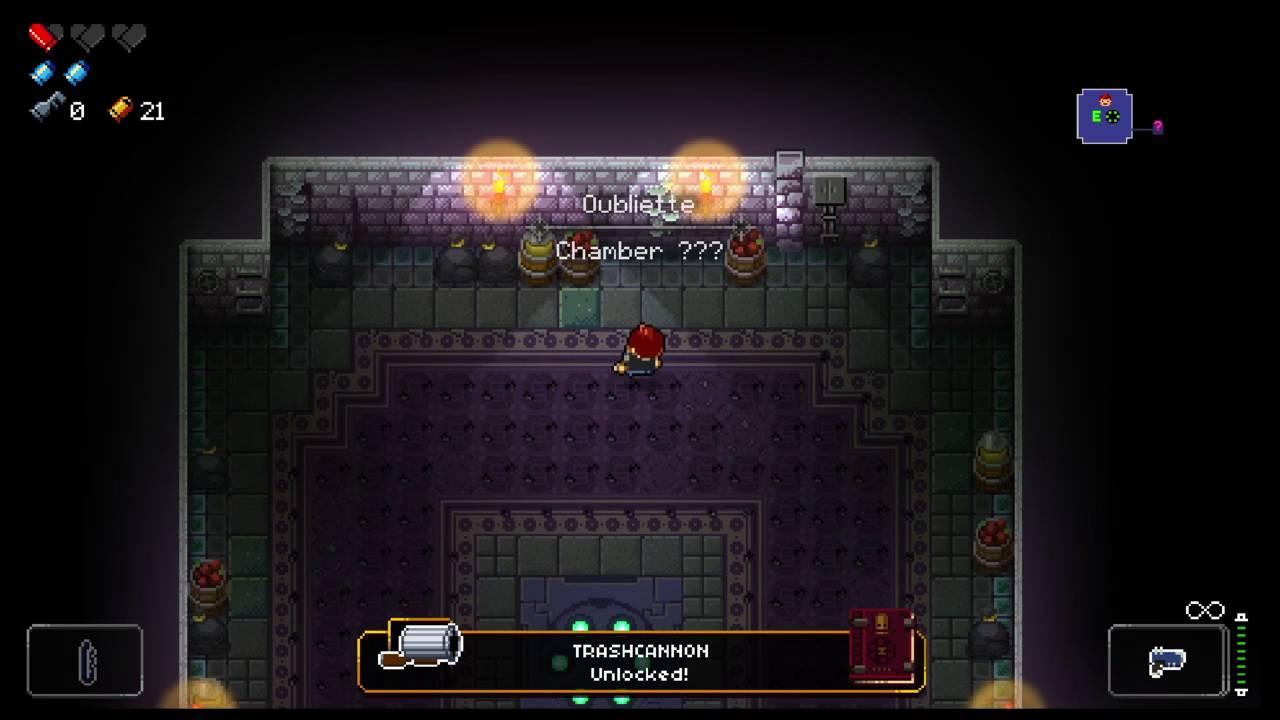 Enter the Gungeon - how 2 open secret sewer chamber - YouTube