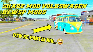 Review And Share Mod Volkswagen F1 By WSP Mods BUSSID V2 9 2
