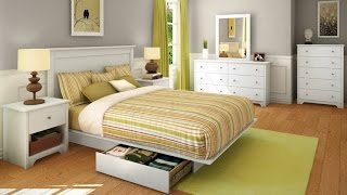 South Shore Vito Collection 5 Drawer Chest The Transitional Style Bedroom Set In Pure White Finish