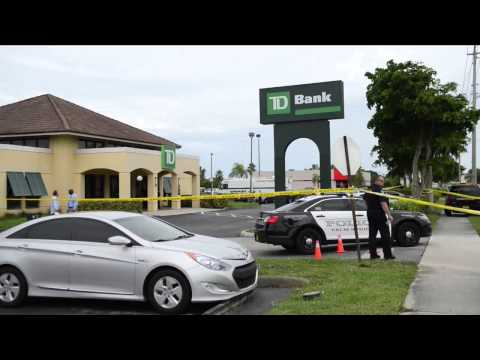 Police Shoot Bank Robbery Suspect