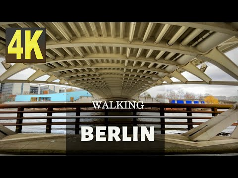 Walking in Germany 🇩🇪. Walking in Berlin 🇩🇪. Government District. Berlin Central Station. Reichstag.