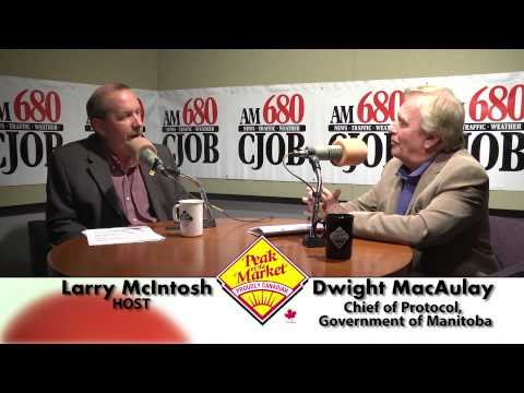 Food and Friends TV with Larry McIntosh & Dwight MacAulay, Chief of Protocol