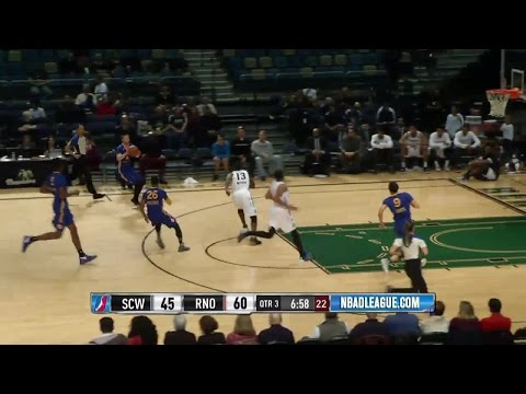 Damian Jones with 4 Blocks against the Bighorns