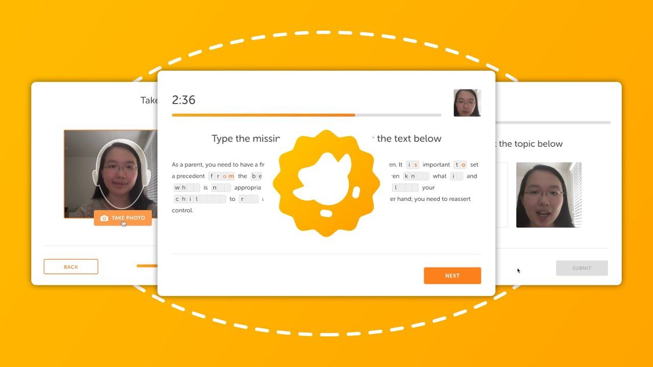 Duolingo English Test Walkthrough 2020