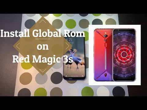 Global Rom Install On The Red Magic 3s