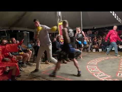 Father & son! 4 man tagteam  Outback Fight Club  Aaron Corden & Rohan Biessel
