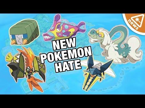 Why The Internet Hates the New Pokemon! (Nerdist News w/ Jessica Chobot)