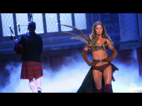 Victoria Secret Fashion Highland Romance Bagpipe Music
