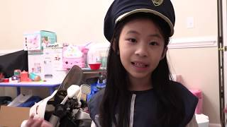Pretend Play Police Build New Car and Rebuild Cops House