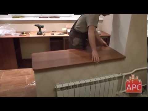 Компьютерный стол и столешница для лоджии от арсеналстрой см.