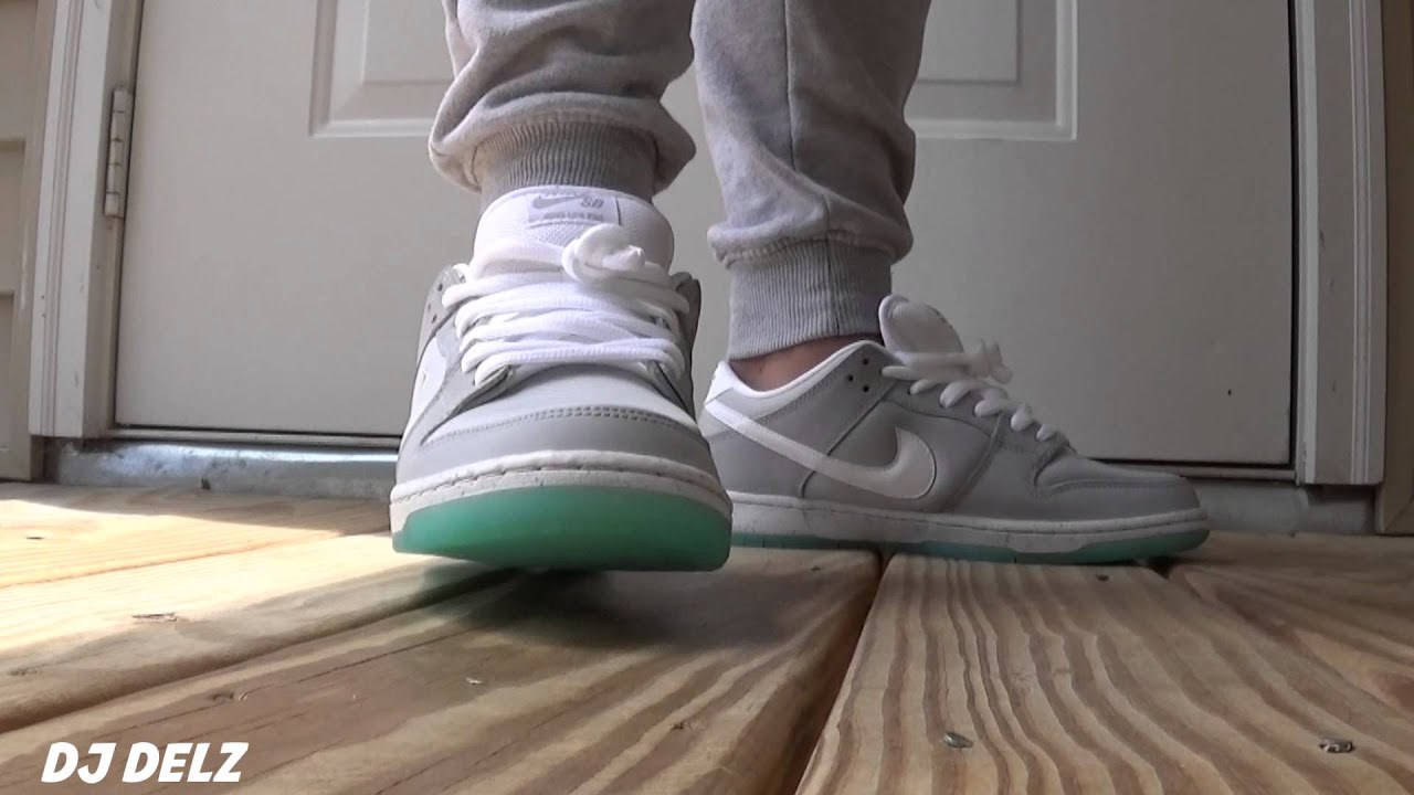 ba6308afb034 Nike SB Dunk Low 2015 MAG Sneaker On Foot Review - YouTube