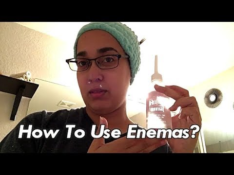 🤔How To Use an 🤗Enema? 11/20/2017