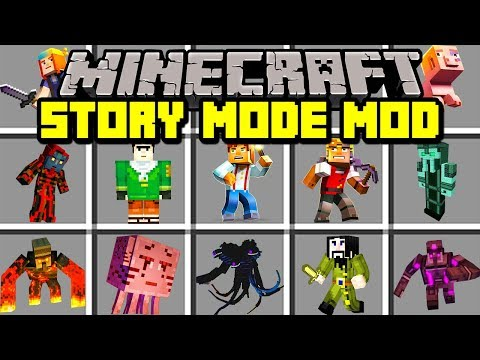 Minecraft STORY MODE: SEASON 3 MOD!   NEW WITHER STORM BOSS, CHARACTERS, & MORE!   Modded Mini-Game