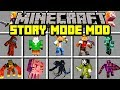 Minecraft STORY MODE: SEASON 3 MOD! | NEW WITHER STORM BOSS, CHARACTERS, & MORE! | Modded Mini-Game