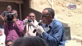 أخبار اليوم | مدير آثار الأقصر : يكشف أسرار وكنوز مقبرة اوسرحات