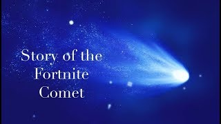 The Story of the Fortnite Meteor (from first sighting up to its impact)