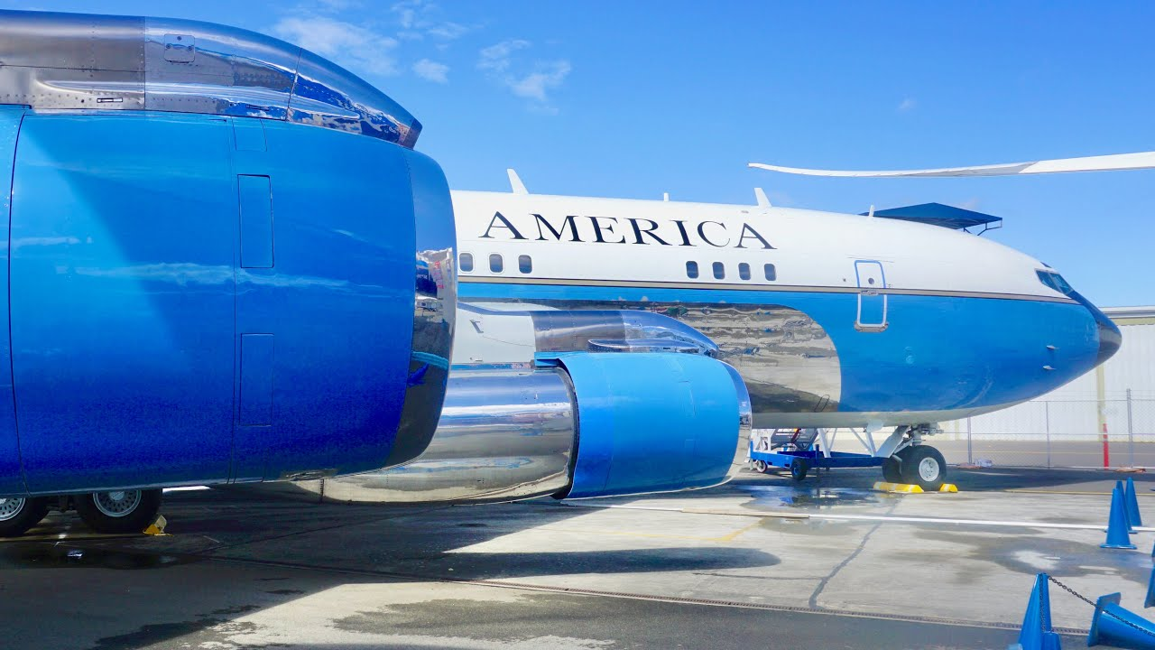 Tour Through Air Force One Vc 137b Sam 970 Boeing 707 At