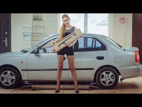 Установка стеклоподъемников ФОРВАРД на Hyundai Accent