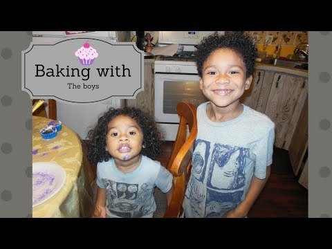 Baking with the boy's 🍮  Interracial family vlog Biracial family vlog