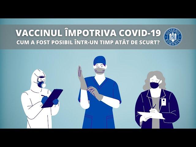 Vaccinul împotriva COVID-19 | Cum a fost posibil într-un timp atât de scurt?