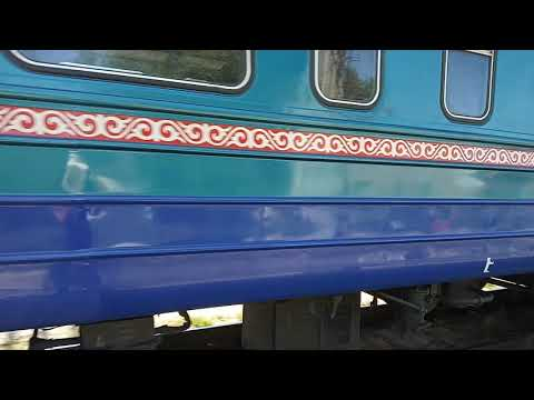 Эд9э0030 с поездом 829 ерментау Нур султан Кокшетау