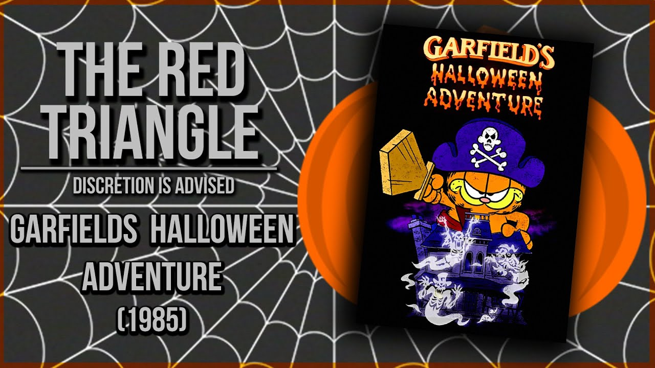 Garfields Halloween Adventure 1985 Red Triangle Reviews Youtube
