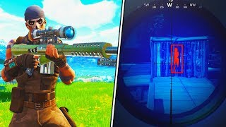 New HEAVY SNIPER is HACKING in Fortnite: Battle Royale! (Fortnite HEAVY SNIPER RIFLE)