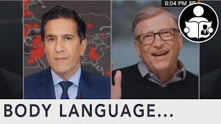 Body Language: Bill Gates On Coronavirus