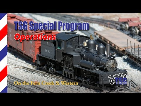 G Scale DCC Freight Operations On The Fern Creek & Western Garden Railroad
