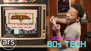 Kids versus 80s technology | Ars Technica