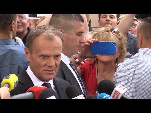Donald Tusk: Prezes Kaczyński mnie nie przestraszy