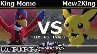 MVG FOX Mew2King (Marth & Pichu) vs. King Momo (Falco & Pichu) - Melee Losers Finals - TNS7