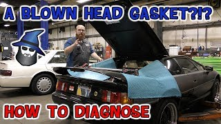 Blown Head Gasket??? The CAR WIZARD shows how test to know for sure!