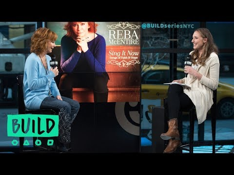 "Reba McEntire Talks About Her New Album ""Sing it Now: Songs Of Faith & Hope"""