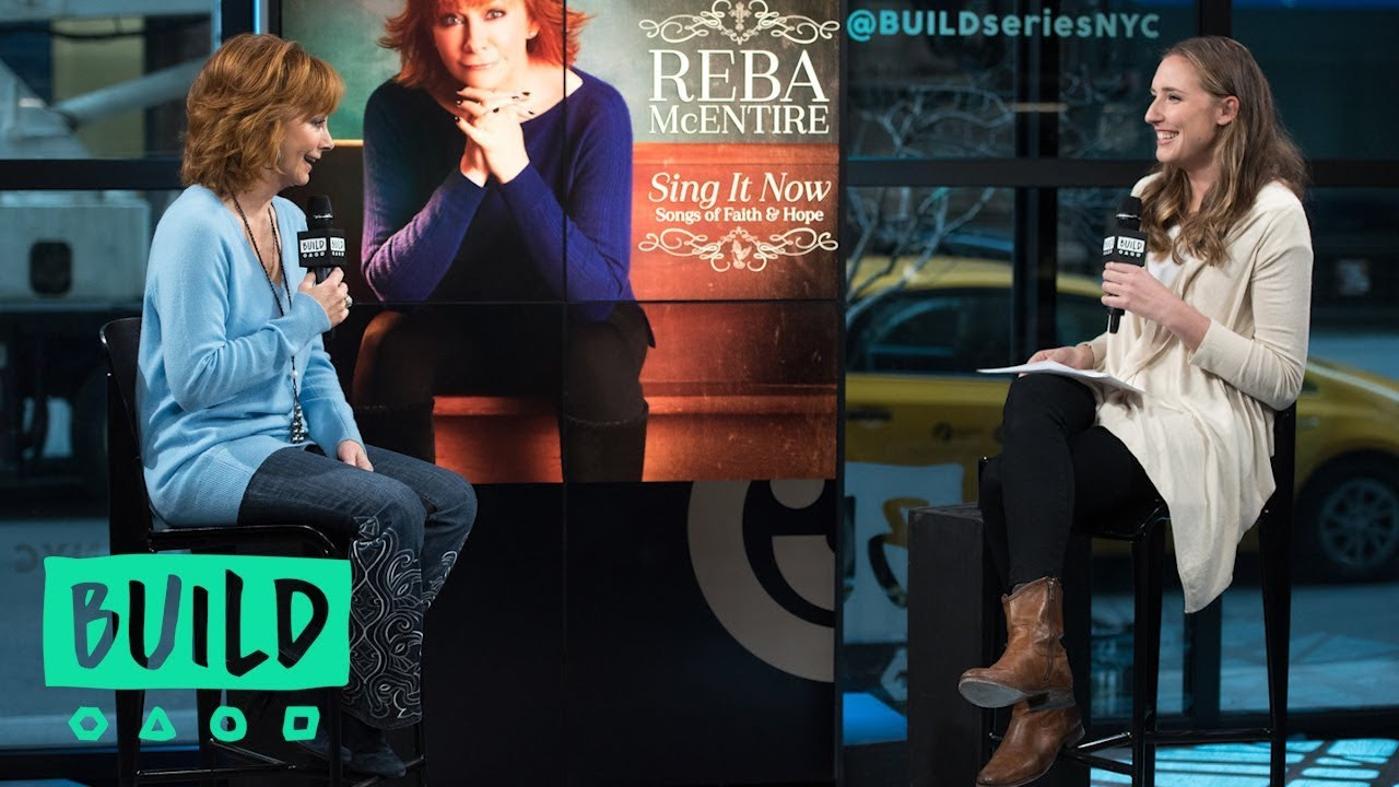 """Reba McEntire Talks About Her New Album """"Sing it Now: Songs Of Faith & Hope"""""""