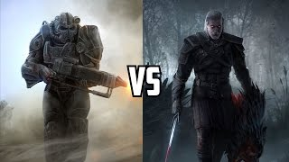 Fallout 4 vs The Witcher 3? | Shouldn't be Compared Unfair Fight RANT | Shotana Studios VS