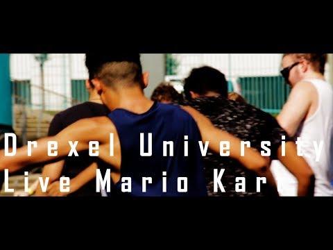 Drexel University Welcome Week || Live Mario Kart