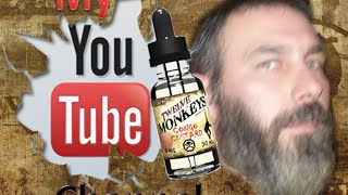 "Twelve Monkeys, ""Congo Custard"" eJuice Review"